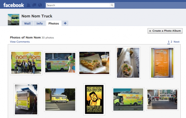free noms when you add us as a friend on fb and tag us in a photo!