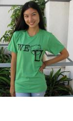 WE NOM U Unisex Tee - Dark Green